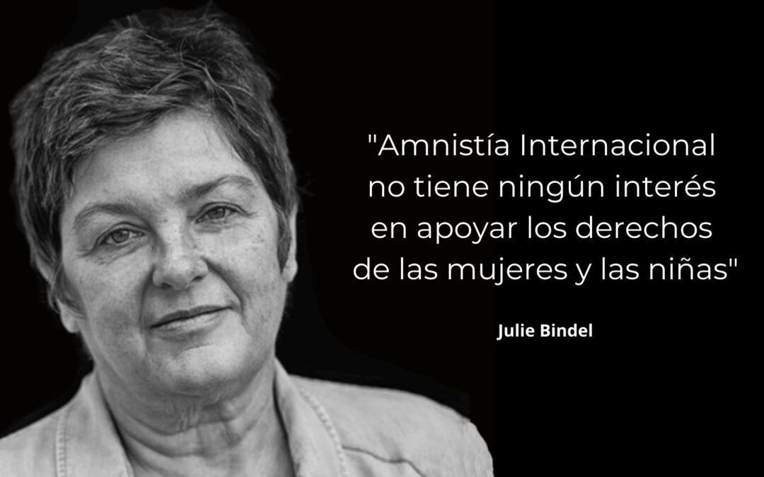 Julie Bindel:  Amnistía Internacional travestida