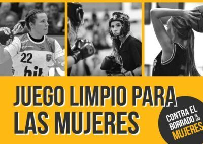 «FAIR PLAY FOR WOMEN», the campaign against the presence of males in competitive women's sport